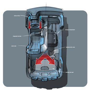 volkswagen presenta el estudio del milano taxi. Black Bedroom Furniture Sets. Home Design Ideas