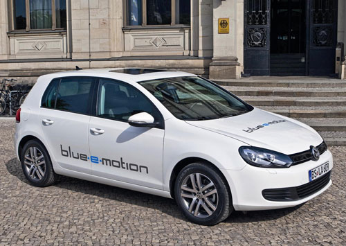 Volkswagenl Golf Blue-e-motion